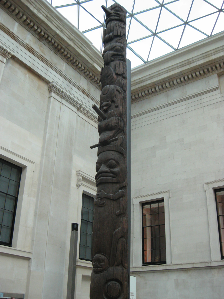 The Tlingit The Raven And A Shame Pole For Exxon Mesocosm