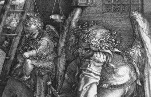 Dürer's Melancholia (detail)