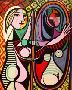Girl Before a Mirror Pablo Picasso