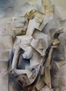 """Girl with a Mandolin"", Pablo Picasso"
