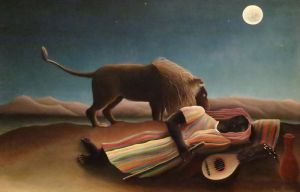 The Sleeping Gypsy, Henri Rousseau