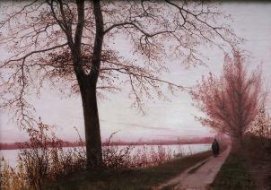 Herbstmorgen am Sortedamsee, Christen Købke, 1838